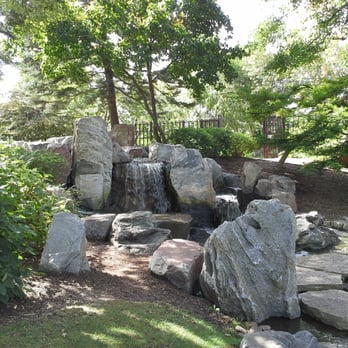 Photo Of Garden Of The Phoenix   Chicago, IL, United States. Waterfall At