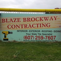 Blaze Brockway Contracting Contractors Elmira Ny