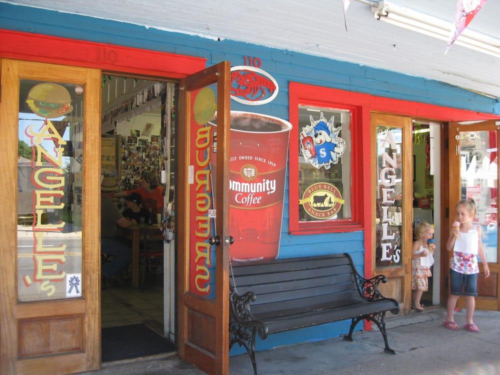 Angelle's Ice Cream Shoppe & Grille: 110 E Bridge St, Breaux Bridge, LA