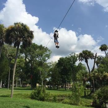 Photo Of Daytona Beach Zipline Adventure Fl United States Cruising