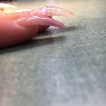 Photo of Blue Diamond Nails - Ontario, CA, United States. The nails I