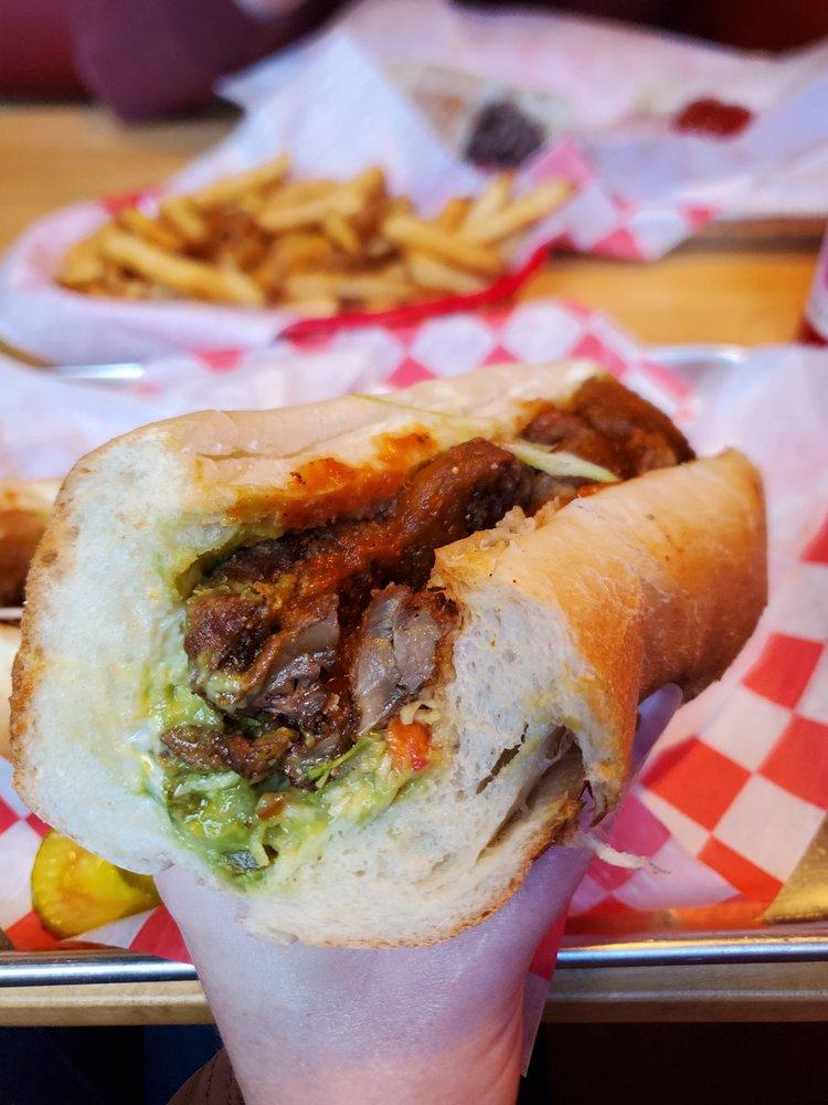 Earls Steak Sandwiches: 99 Oak St, Dover, NH
