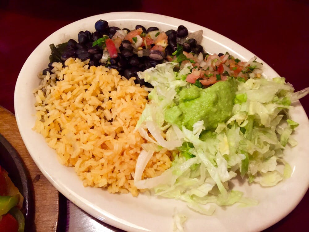 Veggie fajitas fixins plate yelp for Agave mexican cuisine