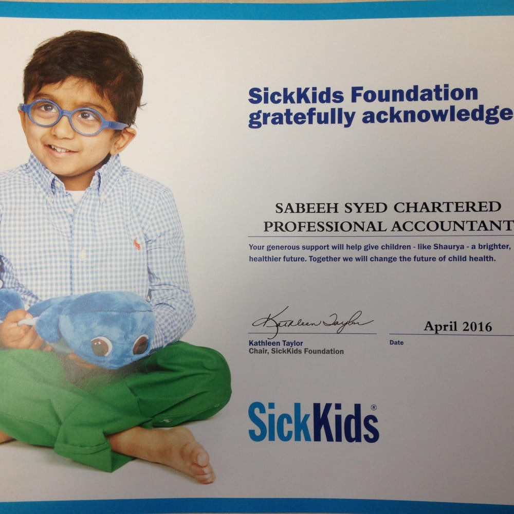 Sabeeh Syed Chartered Professional Accountant