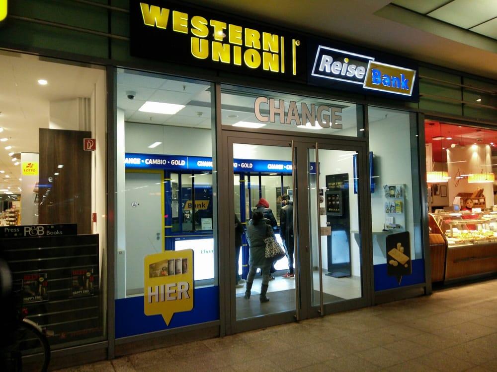 Western union reisebank bureau de change paul nevermann platz