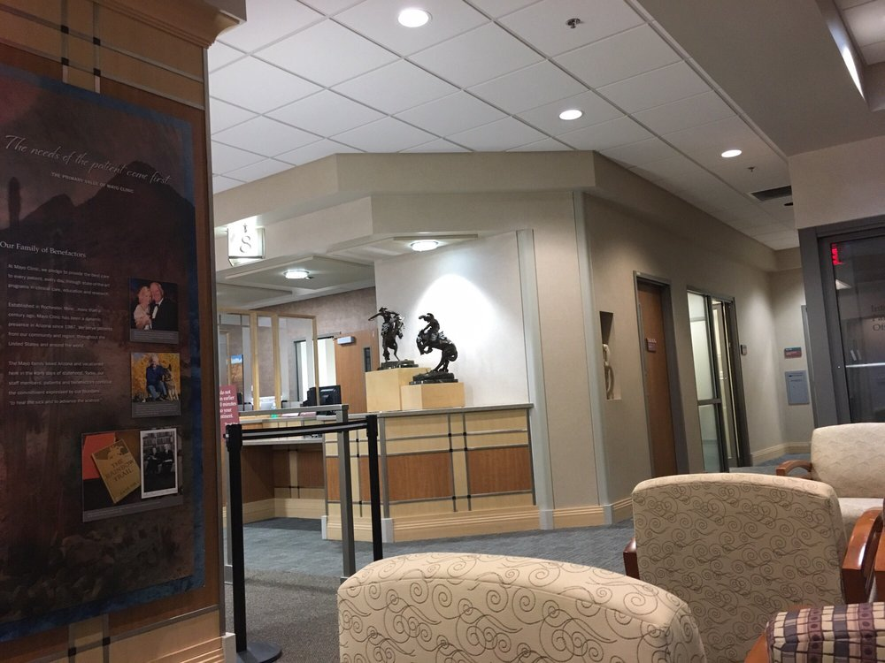 Lab waiting area, Specialty Building