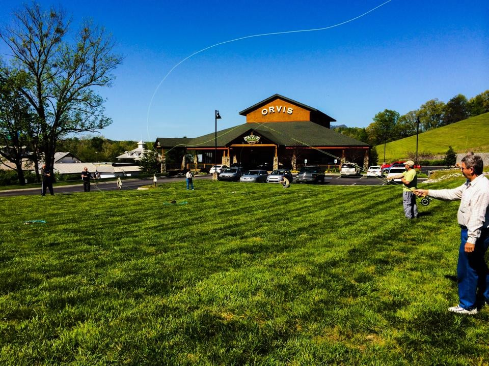 Orvis retail store sporting goods sevierville tn for Fishing in pigeon forge tn