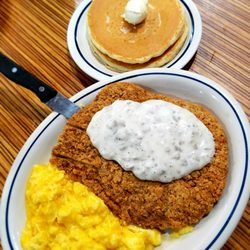 Photo Of Ihop Jacksonville Fl United States Beef Fried Steak With Eggs