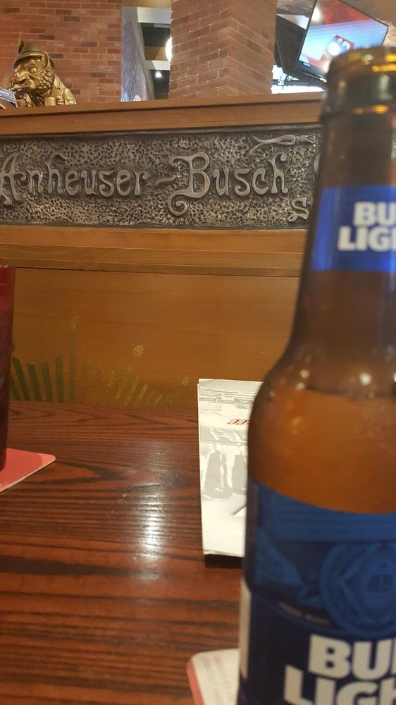 Photo Of Budweiser Brew House   Saint Louis, MO, United States. A Bottle