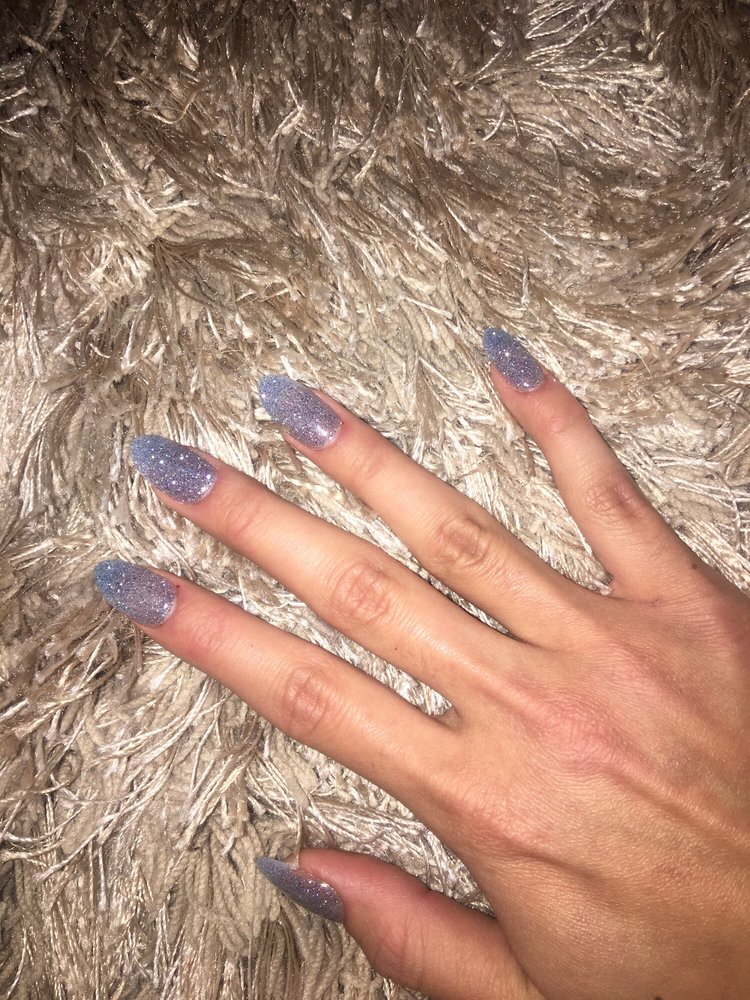 SNS nails, tips and french manicure by Oliver :) they feel very ...