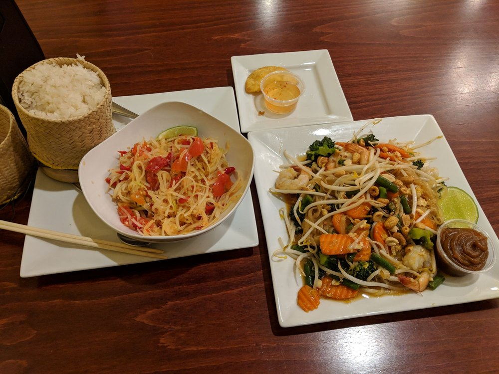 Food from A Taste Of Laos