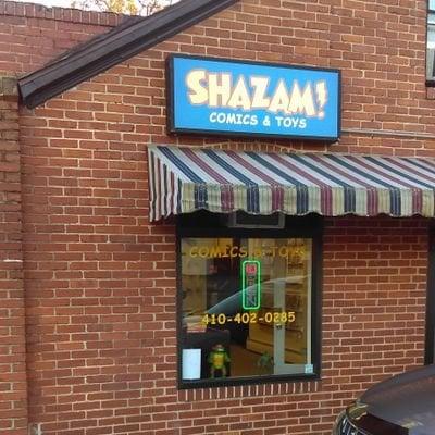Shazam Comics and Toys: 4497 Mountain Rd, Pasadena, MD