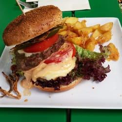 Photo Of Esszimmer   Großostheim, Bayern, Germany. Burger Von Der  Wochenkarte Mit Double