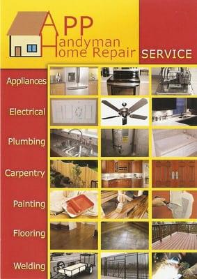 App Handyman Home Repair - Handyman - 15332 Antioch St