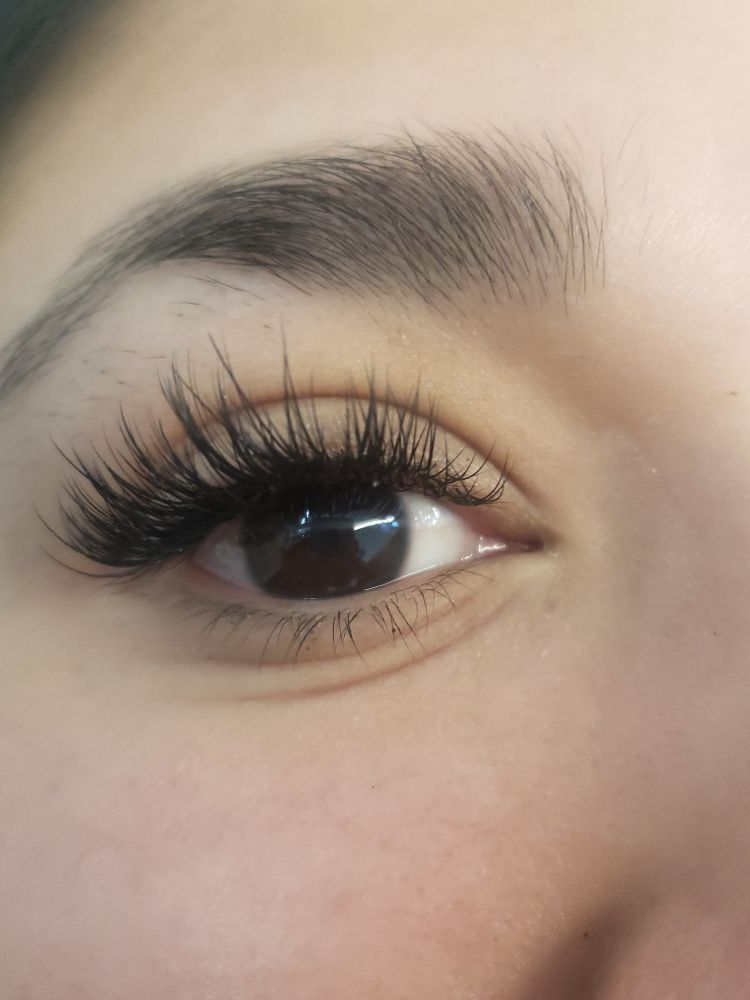 fabac6587f8 Hybrid Volume Lash Extensions - for those with sparse Lashes - if you want  to add drama to your classic set - Yelp