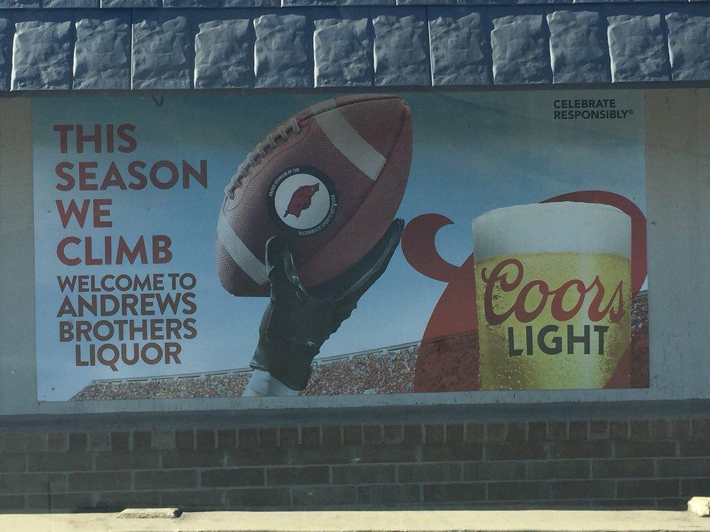 Andrews Liquor: 5351 Highway 9, Center Ridge, AR
