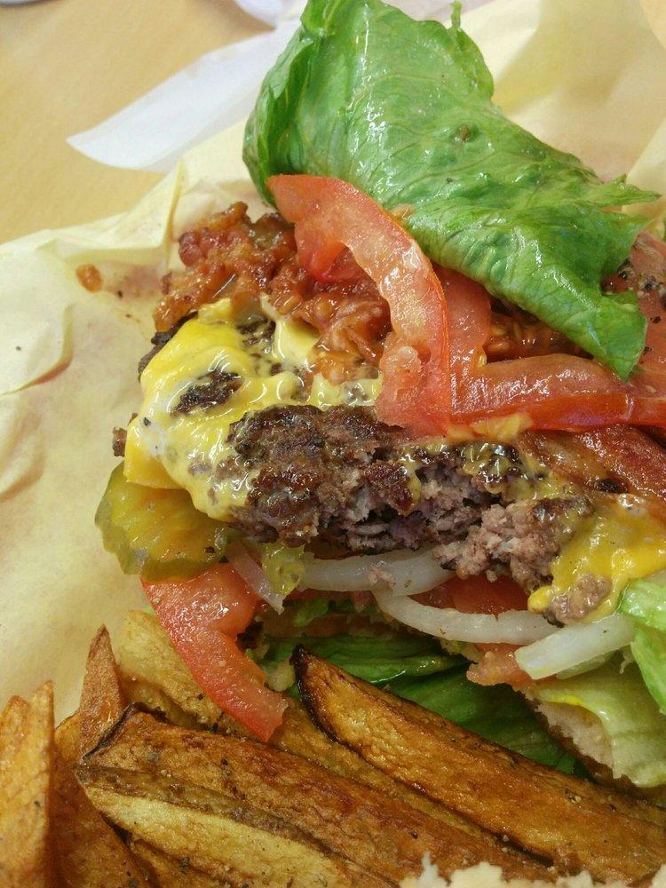 Salazar's Burgers: 553 W Pike Blvd, Weslaco, TX