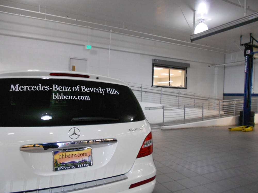 photos for mercedes-benz of beverly hills service center - yelp