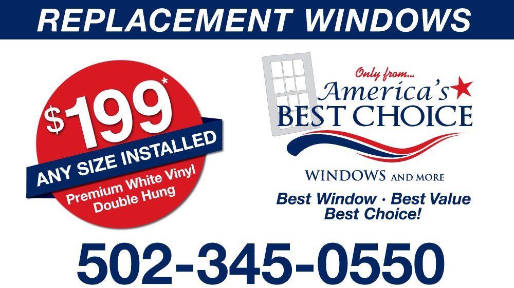 Americas Best Choice Windows of Louisville: 111 Elk Creek Ct, Taylorsville, KY