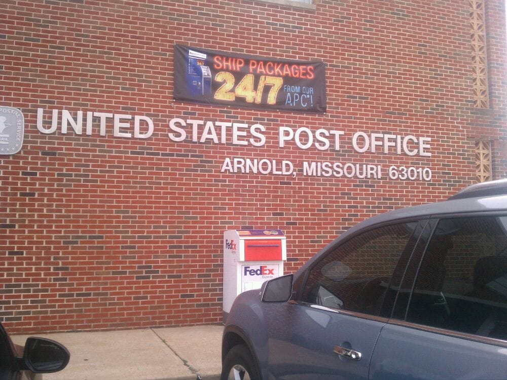 US Post Office: 1314 Jeffco Blvd, Arnold, MO