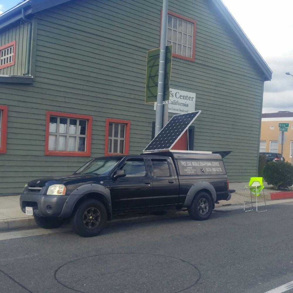 Truck Edge Mobile >> Taking Advantage Of Some Real Good Sunshine Got My Solar Panel