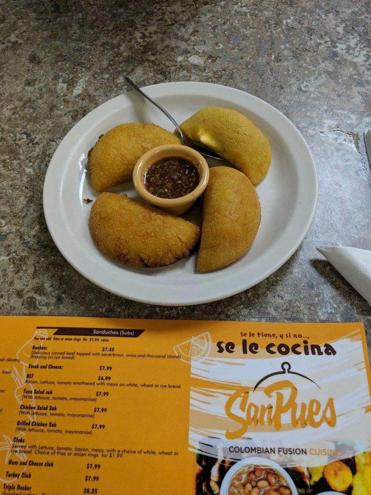SanPues Colombian Kitchen: 12425 Hedges Run Dr, Woodbridge, VA