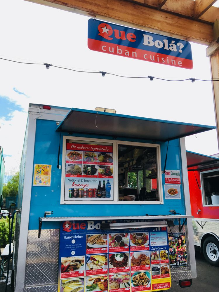Que Bola Cuban Kitchen: 7238 SE Foster Rd, Portland, OR