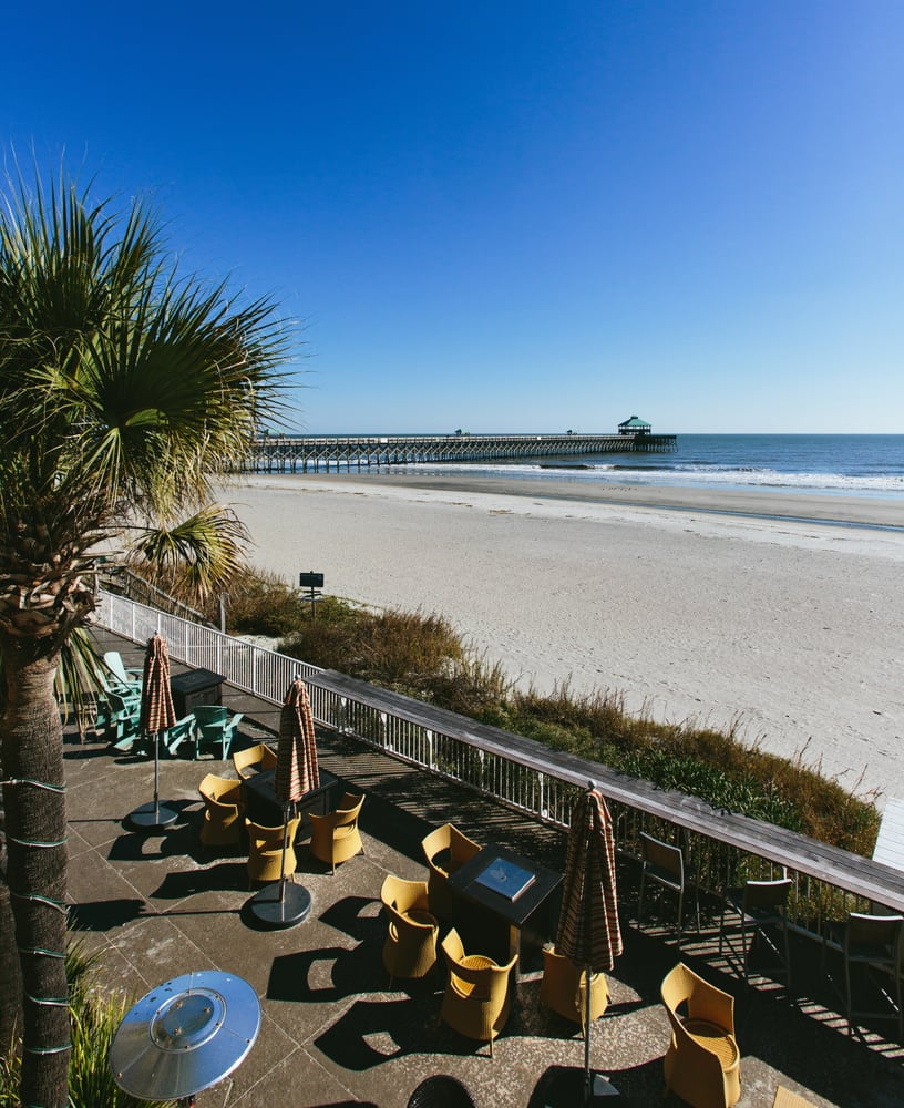 Photo Of Blu Restaurant Bar Folly Beach Sc