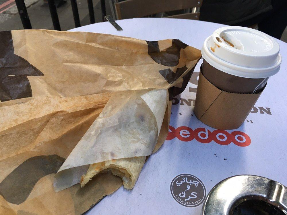 Chapati & Karak: 144 Brompton Road, London, XGL