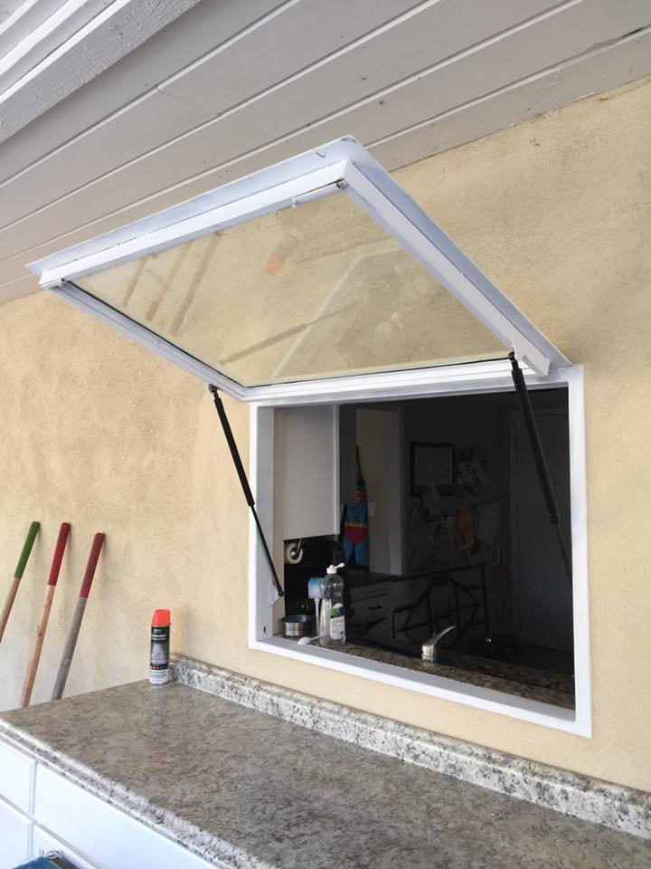 New Awning Window From Garage Doors Unlimited Yelp