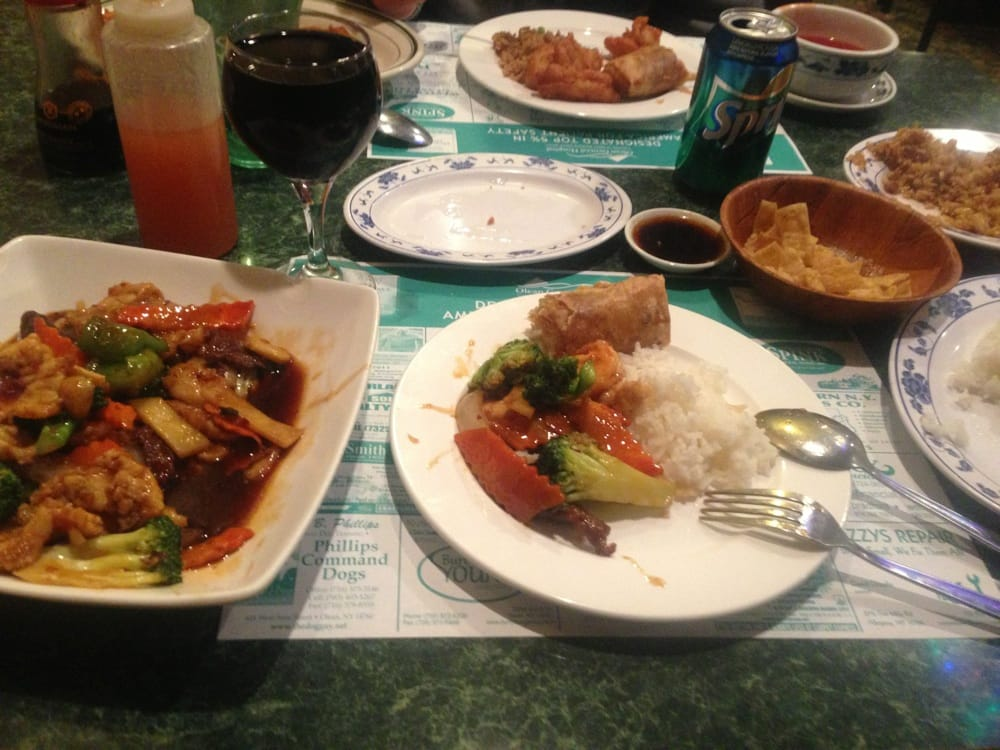 Food from Great Wall Chinese Restaurant