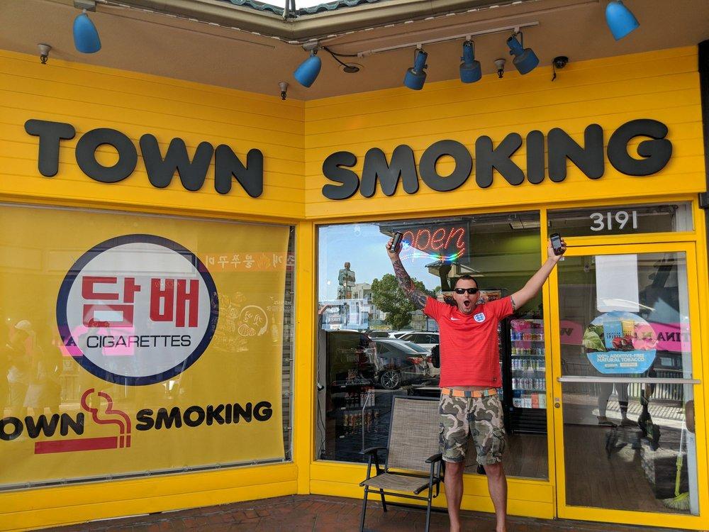 Town Smoking: 3191 W Olympic Blvd, Los Angeles, CA