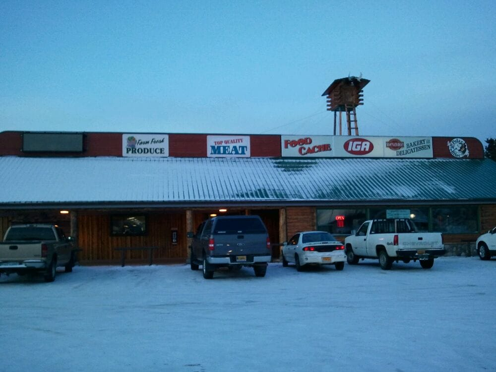 IGA Food Cache: Mi 266 Richardson Hwy, Delta Junction, AK