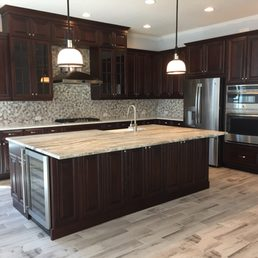 Delicieux Photo Of Graber Cabinets   Sarasota, FL, United States. Custom Cherry Wood  Kitchen