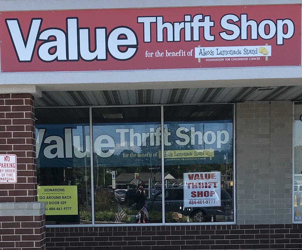 Value Thrift Shop: 529 Oak Ave, Aldan, PA