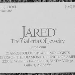 Jared The Galleria Of Jewelry Jewelry 2200 E Williams Field Rd