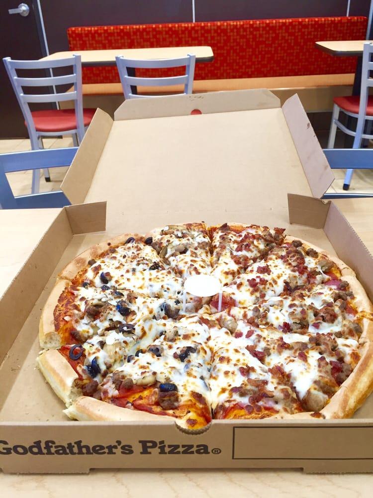 Godfathers Pizza: 115 Harrison Ave, Buena Vista, CO