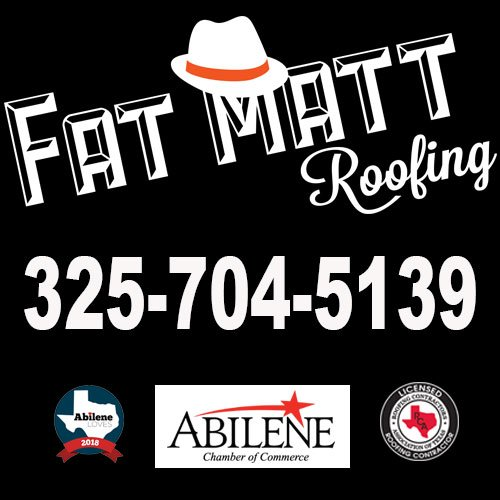 Fat Matt Roofing: 473 Cypress, Abilene, TX