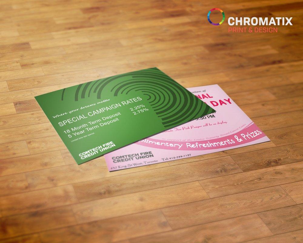 Postcard printing postcard printing toronto postcard printing photo of chromatix printing mississauga on canada postcard printing postcard printing reheart Image collections