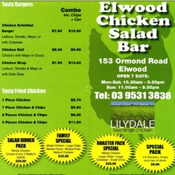 Photo Of Elwood Chicken Salad Bar