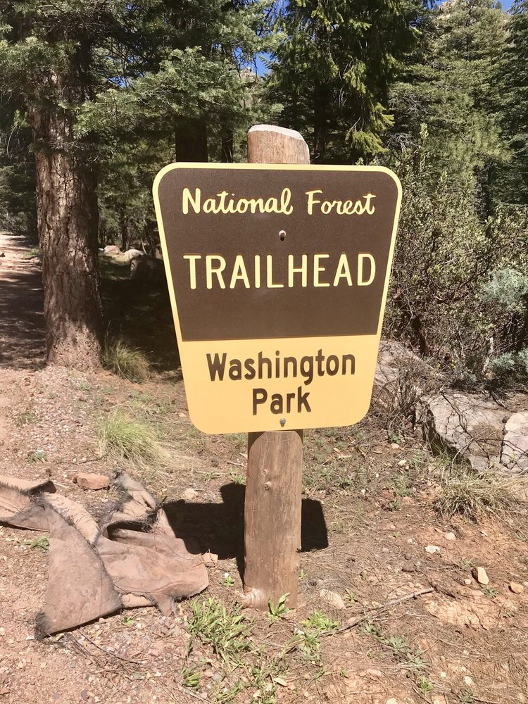 Washington Park Trailhead camping: Payson, AZ