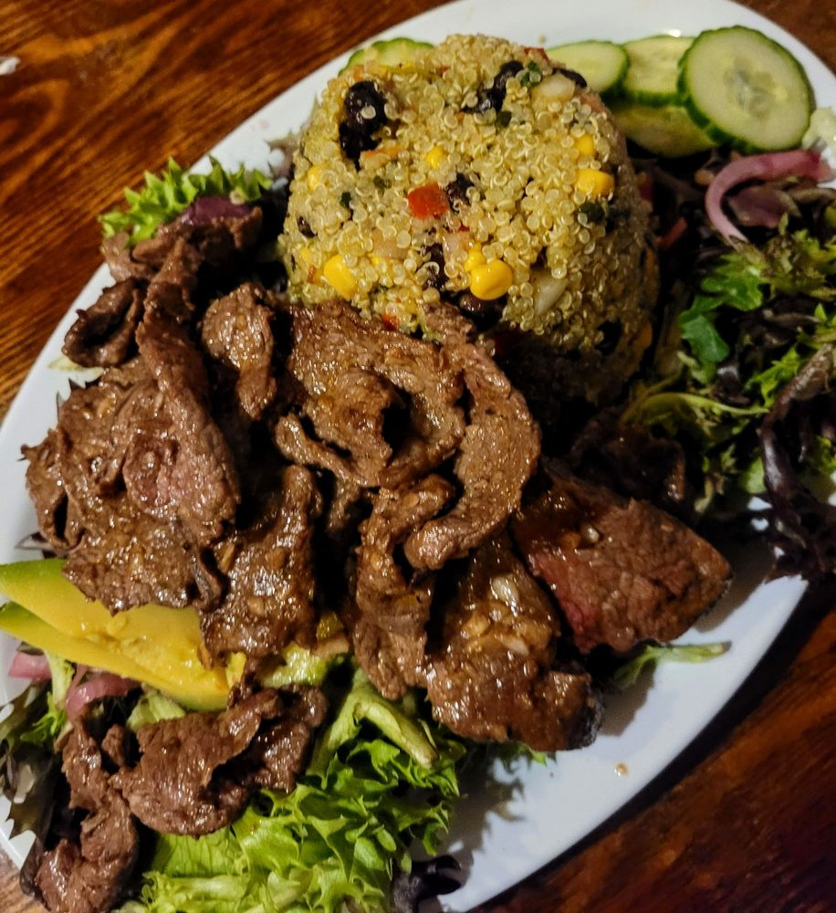 Food from Cafe Cusco