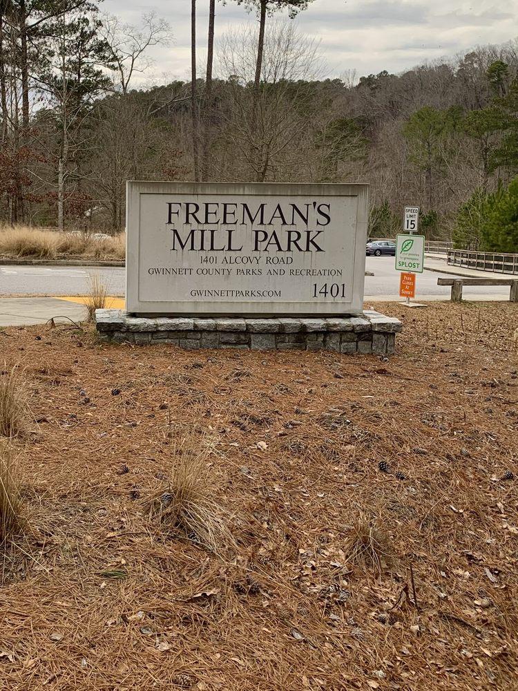 Freeman's Mill Park: 1401 Alcovy Rd, Lawrenceville, GA