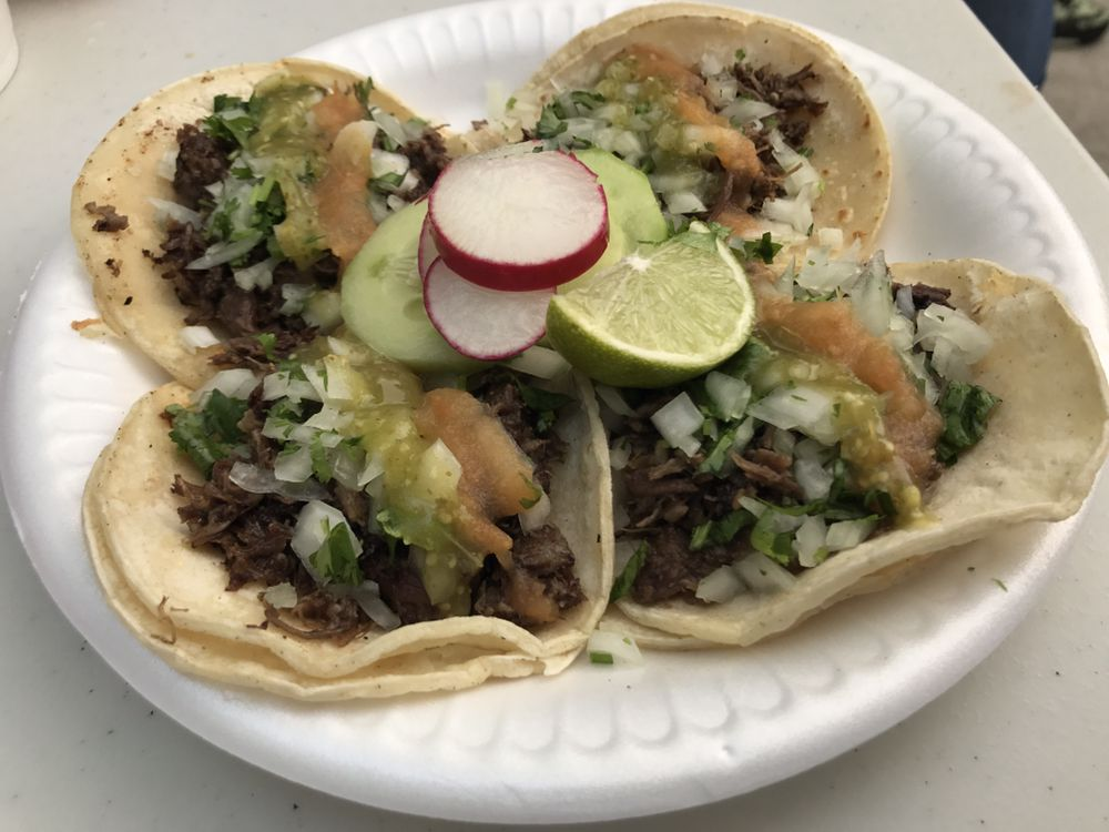 Tacos y Birrieria La Palma: 150 W 84th St, Los Angeles, CA