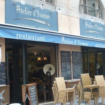Restaurant Lyon Lyon Atelier Yvonne