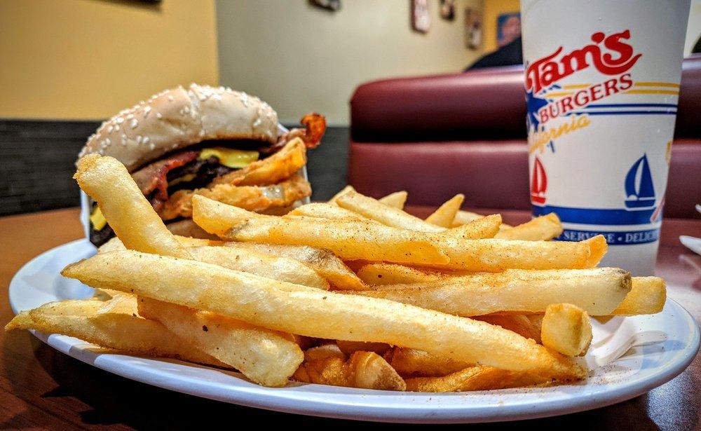 Tam's Burgers: 585 E Arrow Hwy, Covina, CA