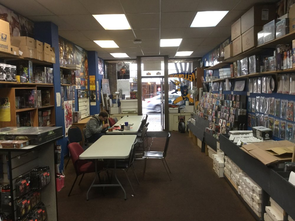 Yellowjacket Comics & Toys: 649 Johnson Street, Victoria, BC