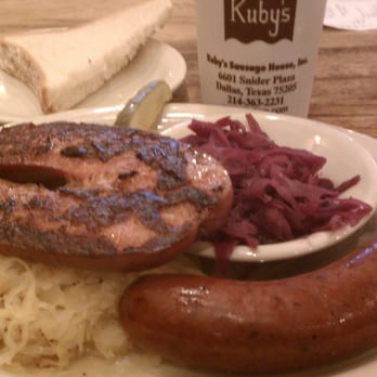 Kuby S Sausage House Man Vs Food