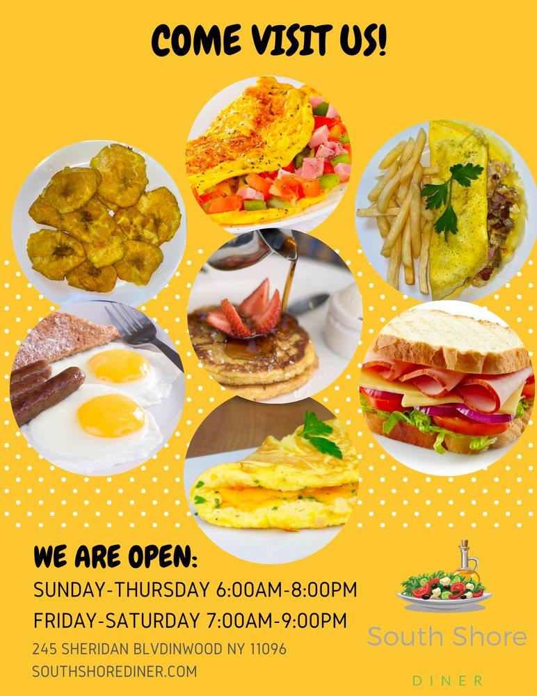 South Shore Diner: 245 Sheridan Blvd, Inwood, NY
