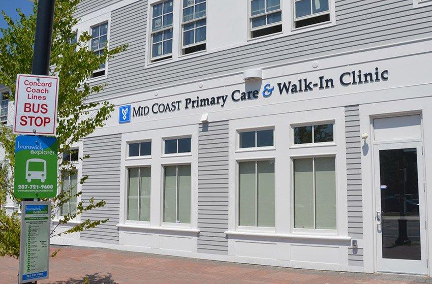 Mid Coast Hospital Walk-In Clinic: 22 Station Ave, Brunswick, ME